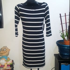 FINAL PRICE New lulus black and white dress